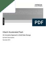 Hitachi White Paper Accelerated Flash Storage