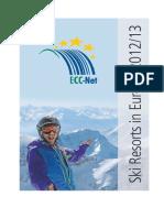 Ski Resorts Europe 2012-2013