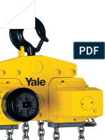 Yale Electric Hoists