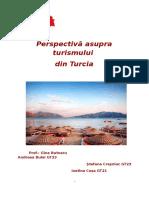 Perspectiva asupra turismului din Turci