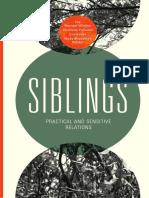 e-book Siblings, Practical and Sensitive Relations, By Ida Wentzel Winther, Charlotte Palludan, Eva Gulløv, Mads Middelboe Rehder 2015