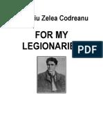 Codreanu, C.Z. for My Legionaries