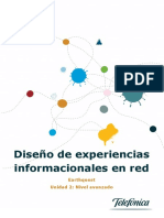 Diseño de Experiencias Informacionales en Red
