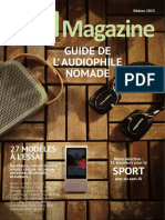 ON Magazine - Guide de l'audiophile nomade 2015