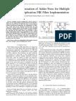 Bit Level Optimization of Adder Trees for Multiple Constant Multiplication Fir Filter Implementation