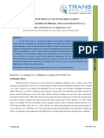 6. Agri Sci - Ijasr - Evaluation of Efficacy of Fungicides Against Phomopsis Leaf Blight