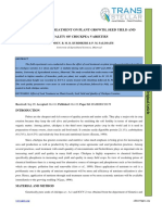 9. Agri Sci - IJASR - Effect of Seed Treatment on Plant Growth, Seed Yield And