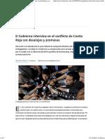El Gobierno Intervino en El Conflicto de Cresta Roja Con Desalojos y Promesas - 23.12.2015 - LA NACION