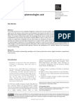 Kitchin (2014) - Big Data, new epistemologies and paradigm shifts
