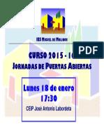 Cartel Puertas Abiertas 2015 16(2)
