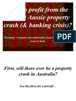 How to Profit From the Coming Aussie Property Crash (and Banking Crisis)