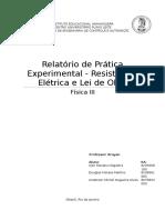 Relatório Experimental