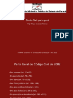 Cod Civil Parte Geral