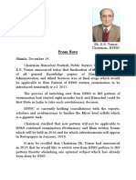 2015-12-Press Note Regawsdwrding New Pattern of HPAS Written Examination, English