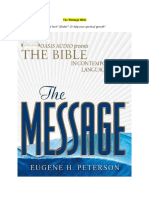 The Message Bible (True or Not?)