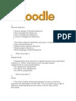 Moodle Information