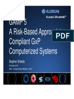 Summary of  ISPE GAMP