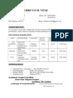 vish_curriculum9 - Oracle.docx