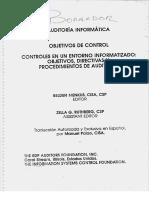 Auditoria Informatica - Objetivos de Control