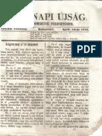 Vasárnapi Újság 1848 Április 16