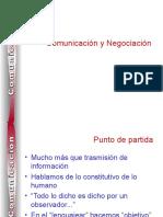 Comunicación y Negociación