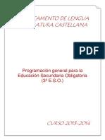 Programacion 3º ESO