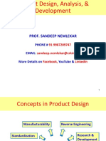POM 02.0 Product Design, Analysis _ Development