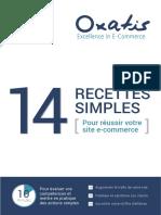 Guide 14 Recettes Pour Reussir en e Commerce