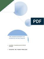 Pre Dimensionamiento de Elementos Estructurales Trabajo ....