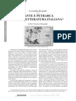 Dante e Petrarca nella Letteratura Italiana