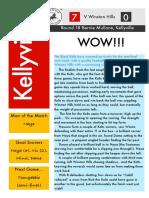 round 18 2014 newsletter