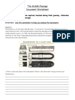 middle passage document worksheet