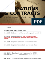 Obligations & Contracts
