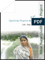 12th Quarterly Progress Report of JEEViKA