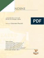 Rondine -puccini