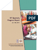 18th Quarterly Progress Report of JEEViKA