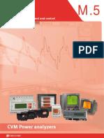 Circutor CVM Power Analyzers Catalog