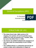 L - General Exceptions Under IPC (1)