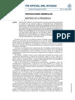 Real Decreto 1189-2011, Del 19 de Agosto