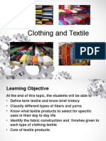 Clothing and Textile Lectures