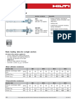 Technical Data Sheet for HSV Stud Anchor Technical Information ASSET DOC 2331315