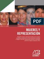 Mujeres y Representación