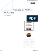 10 Good Practices for ASP