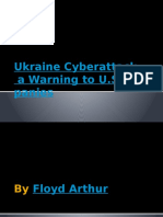 Ukraine Cyberattack a Warning to U.S. Companies By Floyd Arthur PPT