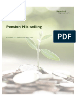 Guide to Pension Mis-selling