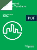 Schneider Electric Listino Componenti Bassa Tensione 2014