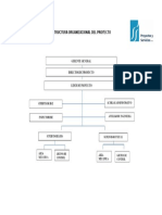 Estructura Organizacional Del Proyecto 1528