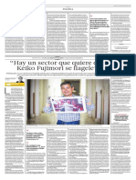 Entrevista a Luis Galarreta en el diario El Comercio
