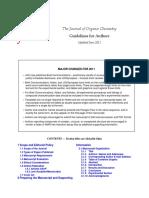 Elemental Analysis - Journal of Organic Chemistry