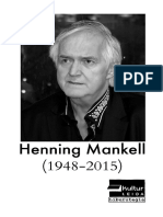 Henning Mankell liburutegian -- Obras de Henning Mankell